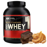 ON 100% Whey Gold 2270g Chocolate Peanut Butter