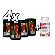 Set! 4 x Universal Animal SHOCK THERAPY + Muscletech Hydroxycut Clinical 60caps FREE