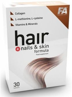 FA Hair Nails Formula 30caps