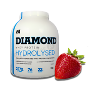 FA Diamond Hydrolysed Whey 2270g Strawberry
