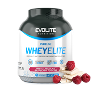 Evolite WheyElite 2270g White chocolate raspberry