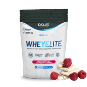 Evolite WheyElite 900g White chocolate raspberry